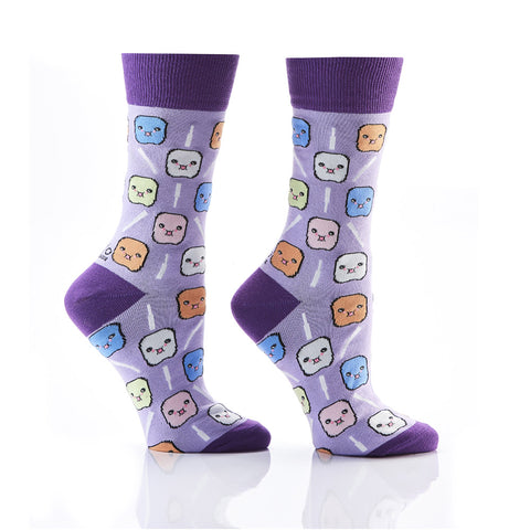 Keep it Mellow: Women's Novelty Crew Socks