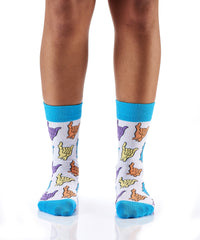 Let's Chill: Women's Crew Socks
