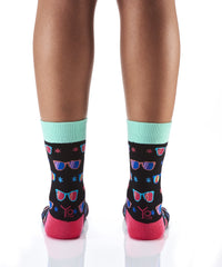 Shade Eye: Women's Novelty Crew Socks