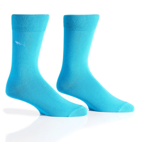 Into the Blue : Bamboo Men's Casual Socks