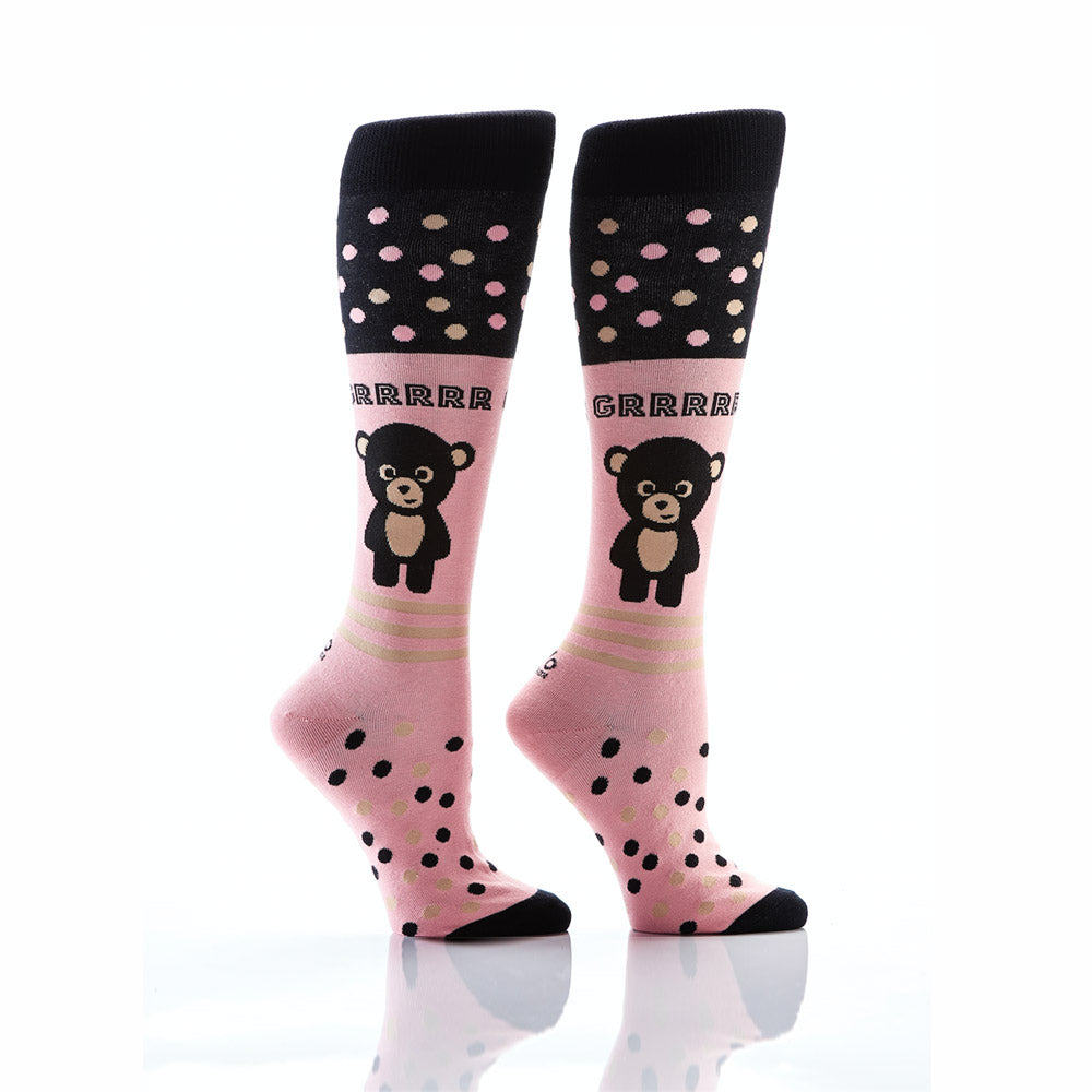 Cuddly Buddy: Women's Knee-High Socks