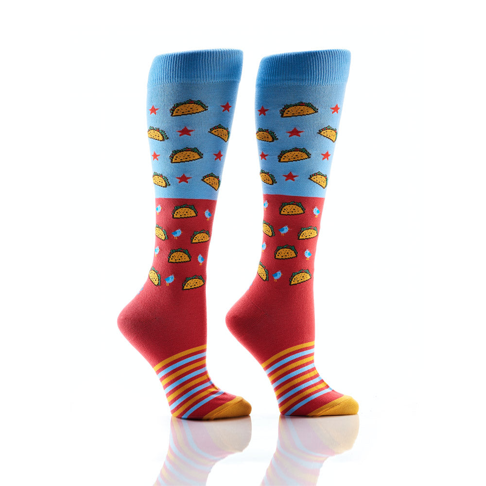 Taco's, Always: Women's Knee-High Socks