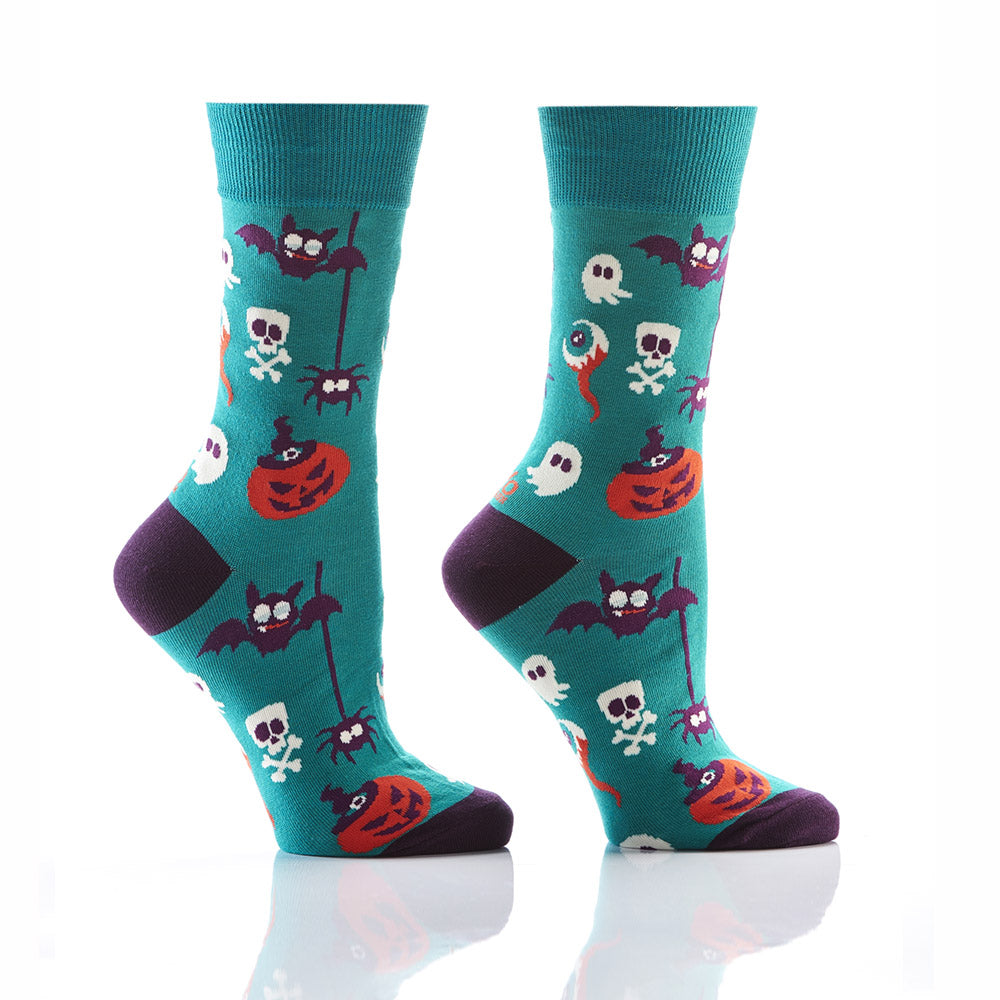 Creepy Crawlers: Women's Crew Socks