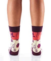 Black Magic: Women's Crew Socks