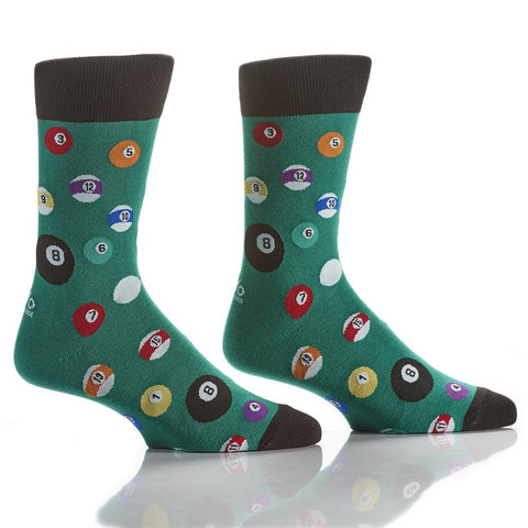 8-Ball: Men's Crew Socks - Yo Sox Canada