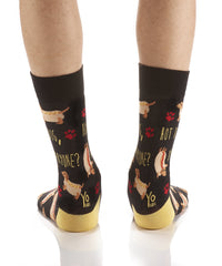 Double Dog: Men's Crew Socks - Yo Sox Canada