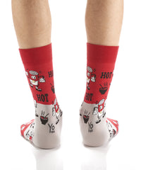 It's Hot!: Men's Crew Socks - Yo Sox Canada
