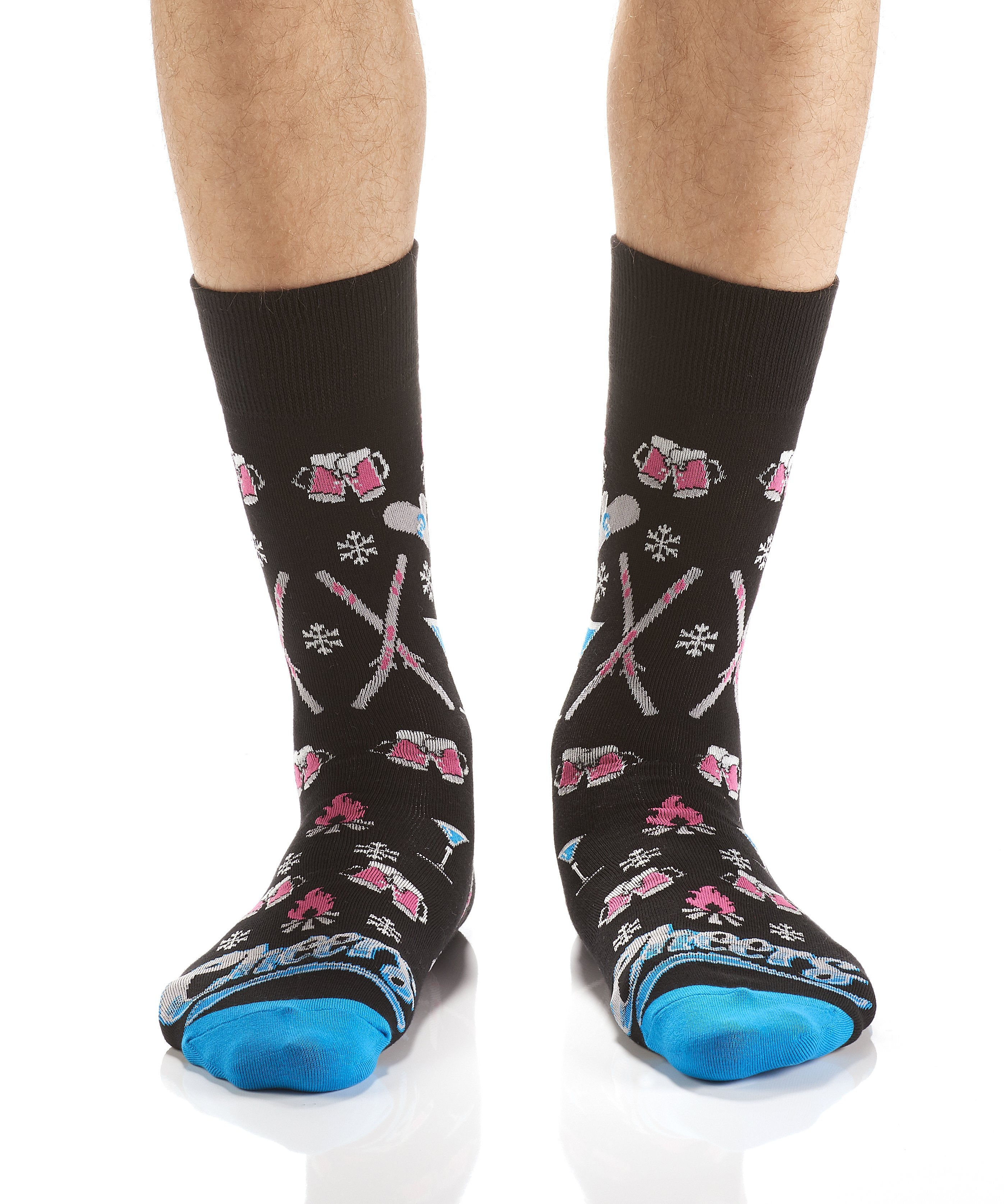 All About that Après: Men's Crew Socks - Yo Sox Canada