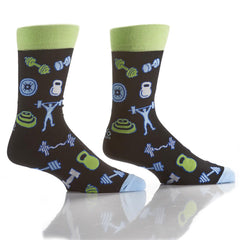 IRON: Men's Crew Socks - Yo Sox Canada