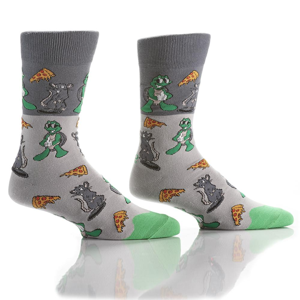 The Tortiose & the Rodent: Men's Crew Socks