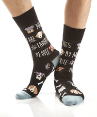 Puppy Love: Men's Crew Socks