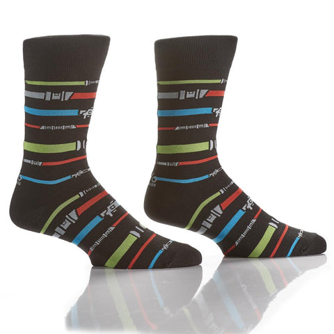 It's the Force: Men's Crew Socks - Yo Sox Canada