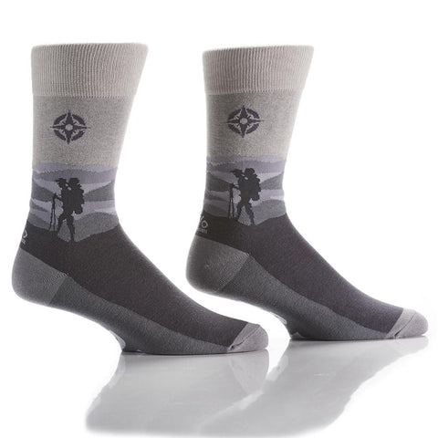 Due North: Men's Crew Socks - Yo Sox Canada