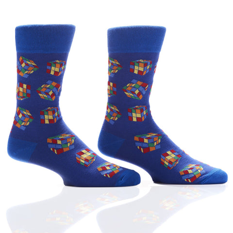 Solve the Cube: Men's Crew Socks