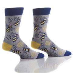 Honey Bae: Men's Crew Socks - Yo Sox Canada