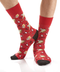 3 Strikes: Men's Crew Socks - Yo Sox Canada