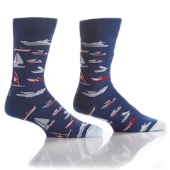 Cruise Control: Men's Crew Socks - Yo Sox Canada