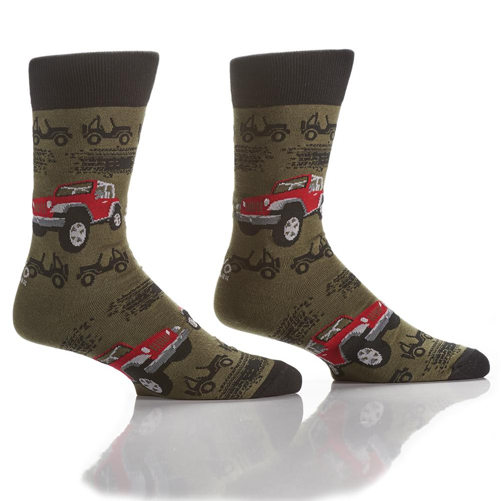 Off Roading: Men's Crew Socks
