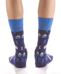 Pie OR PI: Men's Crew Socks