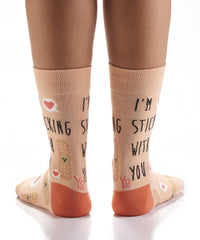 Stuck on You: Women's Crew Socks