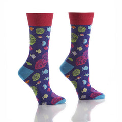 Sight-SEAing: Women's Crew Socks