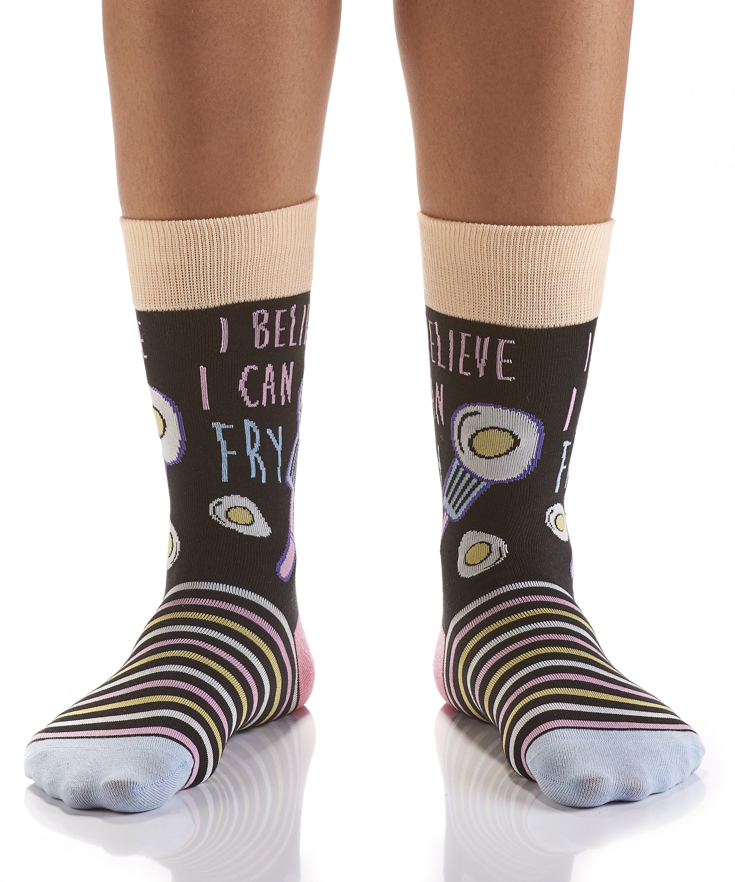 Breakfast is Served: Women's Crew Socks