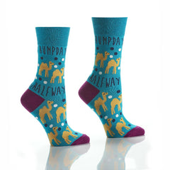 Hump Day: Women's Crew Socks - Yo Sox Canada