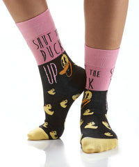 Duck Face: Women's Crew Socks