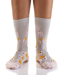 Fries Before Guys: Women's Crew Socks