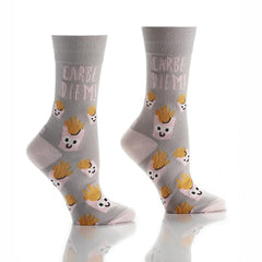Fries Before Guys: Women's Crew Socks - Yo Sox Canada