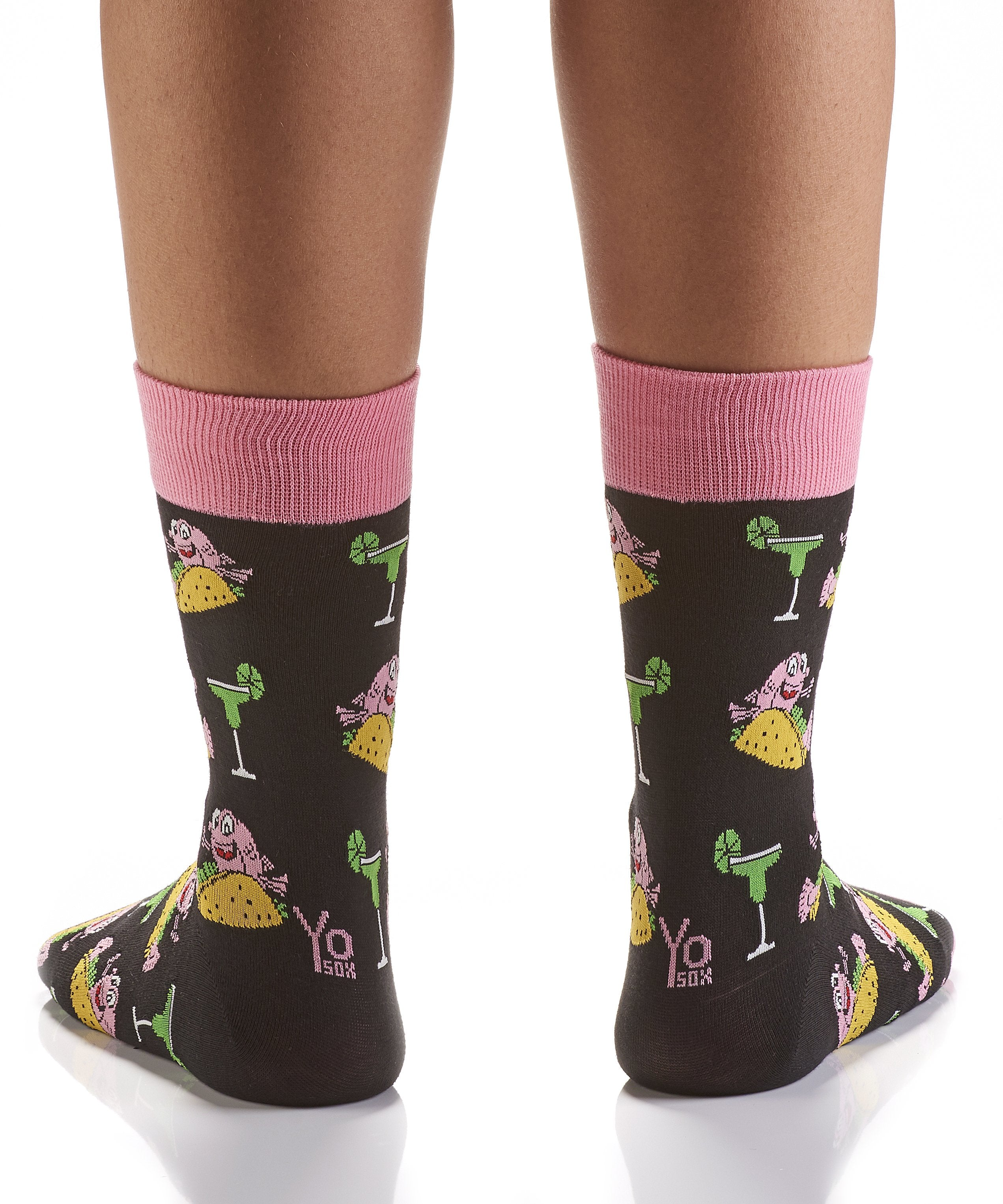 Let's Fiesta: Women's Crew Socks