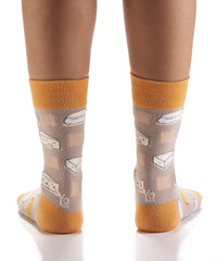 Say Cheese: Women's Crew Socks
