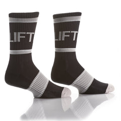 Black Athletic Crew Socks