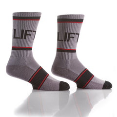Lift It or Lose It: Athletic Crew Socks