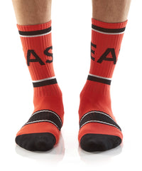 Beast Mode: Athletic Crew Socks
