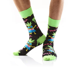 Tropical Luau: Men's Crew Socks