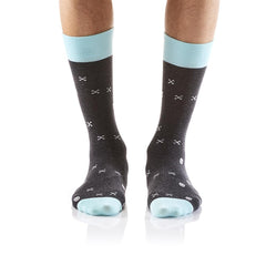 DANGER: Men's Crew Socks - Yo Sox Canada
