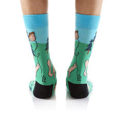 Squirrely: Men's Crew Socks