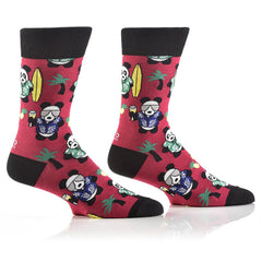 Party Panda: Men's Crew Socks - Yo Sox Canada