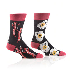 Breakfast Party: Men's Crew Socks