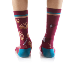 Fine Dining: Men's Crew Socks - Yo Sox Canada