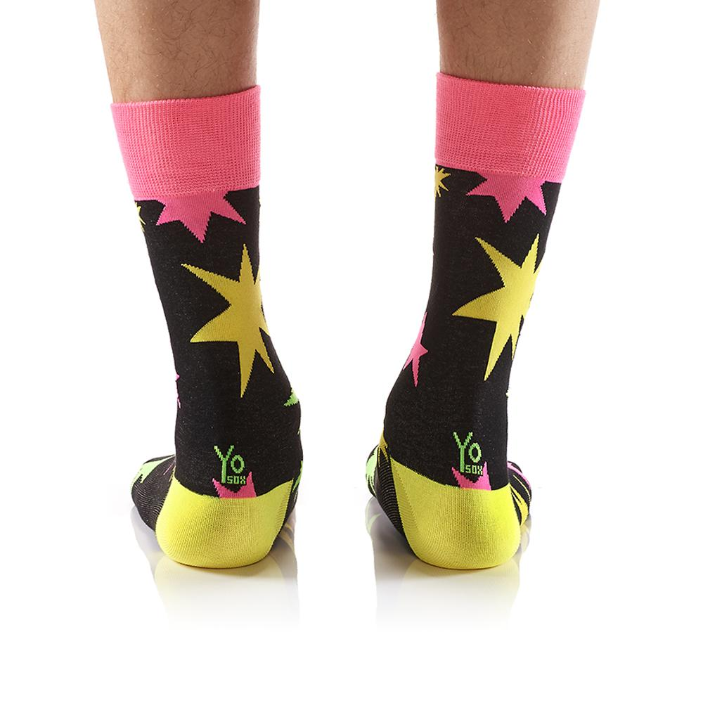 Big Bang: Men's Crew Socks - Yo Sox Canada