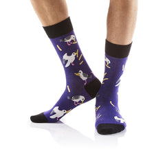 City Snackers: Men's Crew Socks - Yo Sox Canada