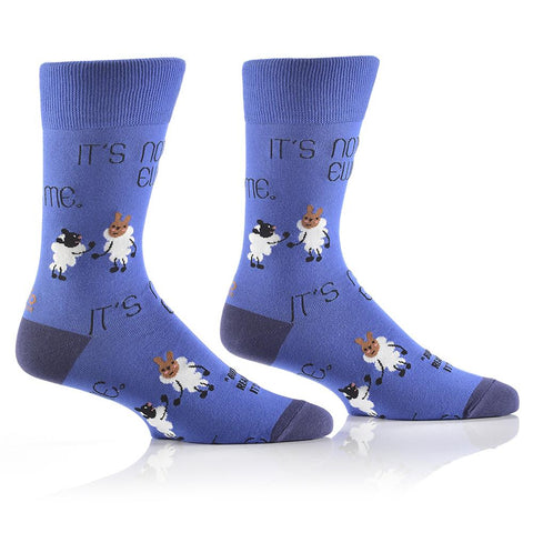 It's not Ewe, it's me: Men's Crew Socks - Yo Sox Canada