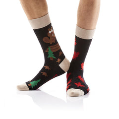 How Canadian: Men's Crew Socks - Yo Sox Canada
