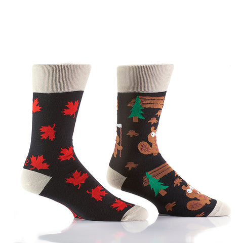 How Canadian: Men's Crew Socks