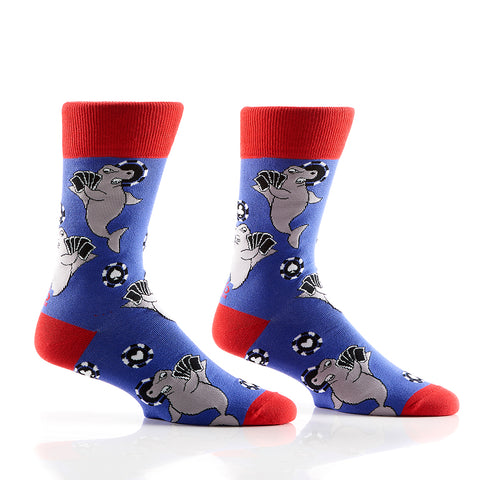 Jaws All In: Men's Crew Socks