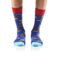 Canadiana: Men's Crew Socks - Yo Sox Canada