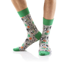 Into the Woods: Men's Crew Socks - Yo Sox Canada