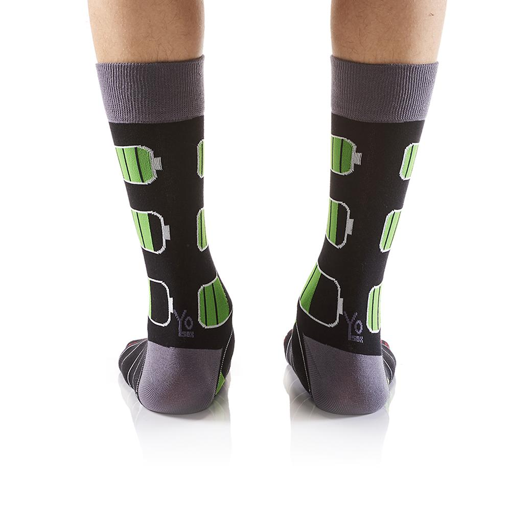 What Percent are you at?: Men's Crew Socks